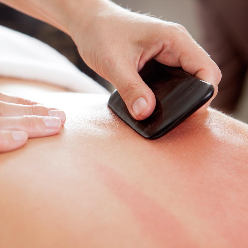 Gua sha massage service